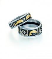 FREY WILLE smaltovaný prsten