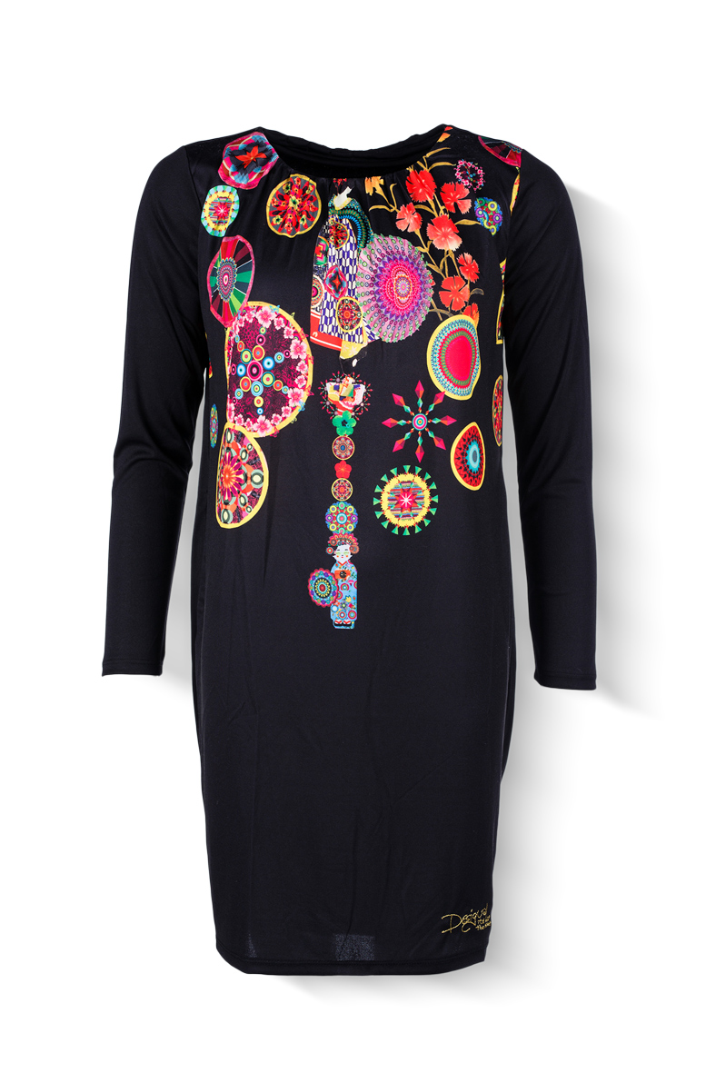 Desigual - dámské šaty  a4ad1345ea7