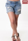DEE DENIM SHORT SHORTS RETRO JEANS