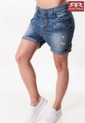 TANIA DENIM SHORT SHORTS RETRO JEANS